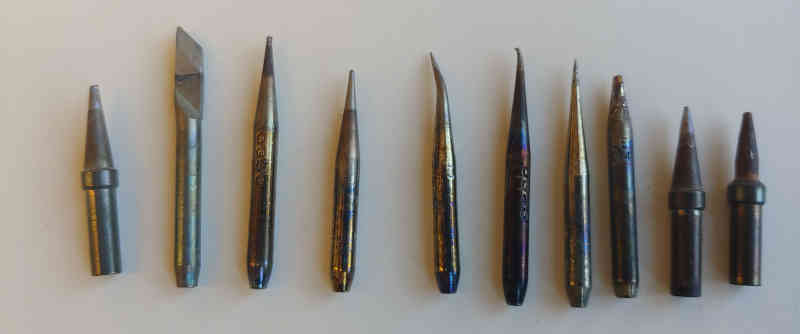 Pace soldering iron tips