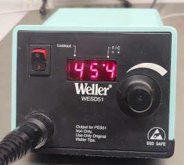 Weller temperature controlled soldering iron