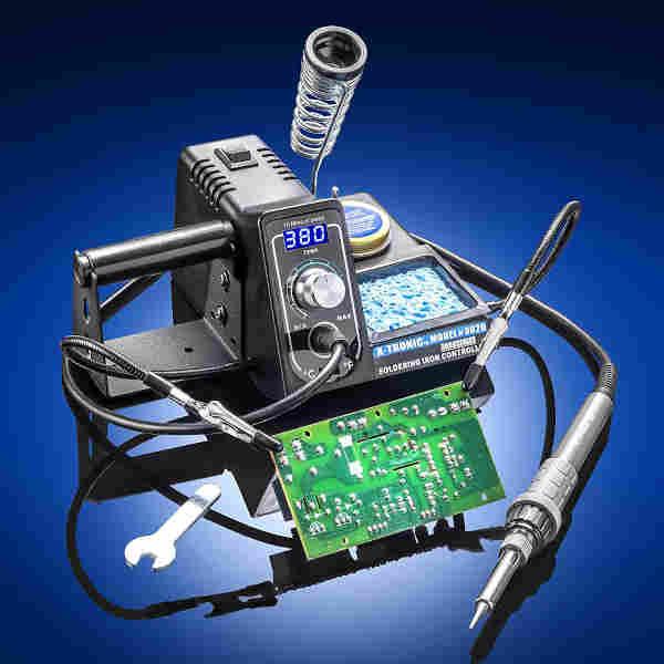 digital temperature controlled soldering iron