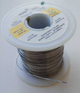 soldering wire with flux