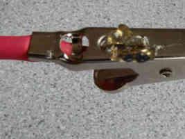 solder flux on alligator clips